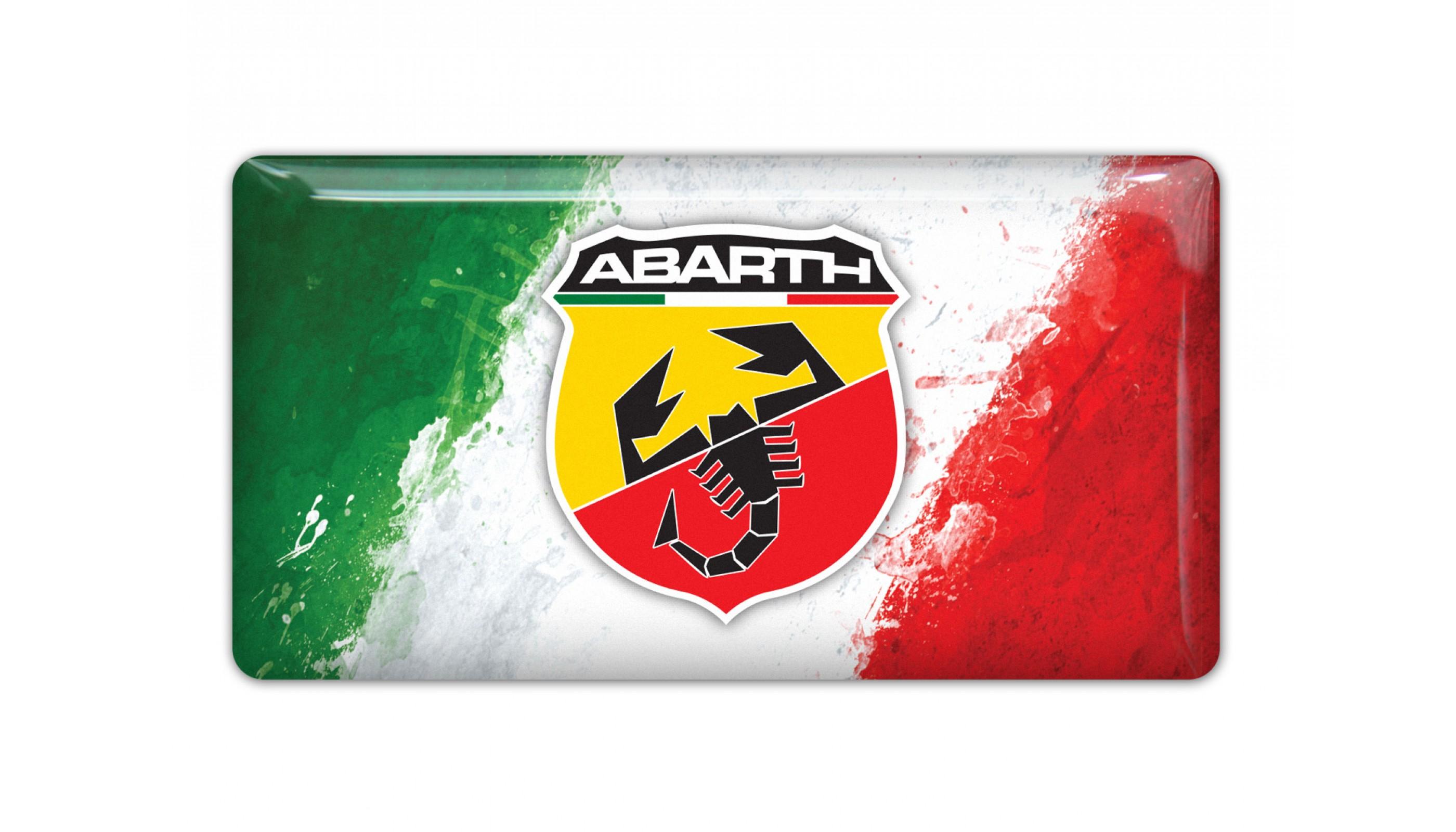 Abarth Italy Flag