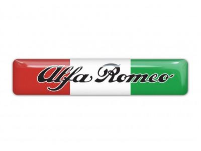 Alfa Romeo Italian Flag