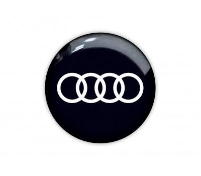 Audi round black