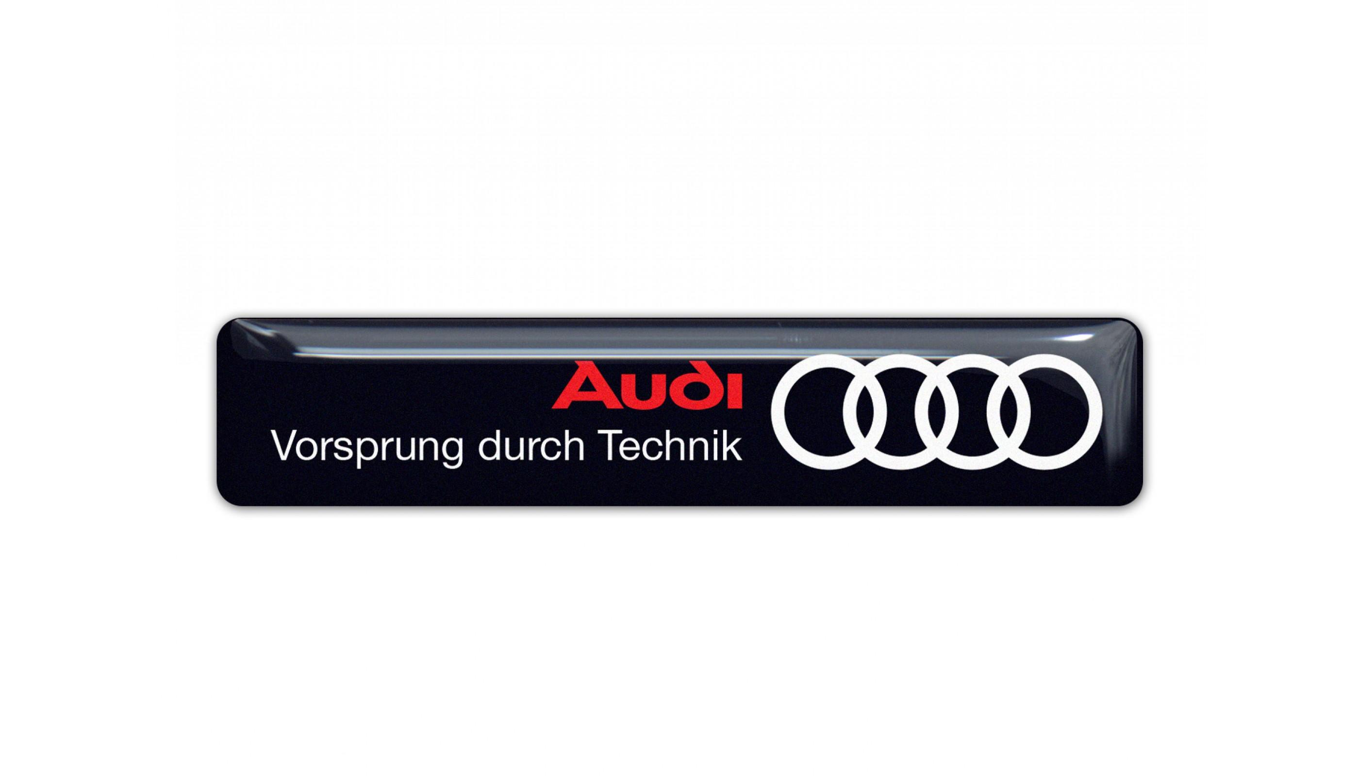 Audi wide emblem