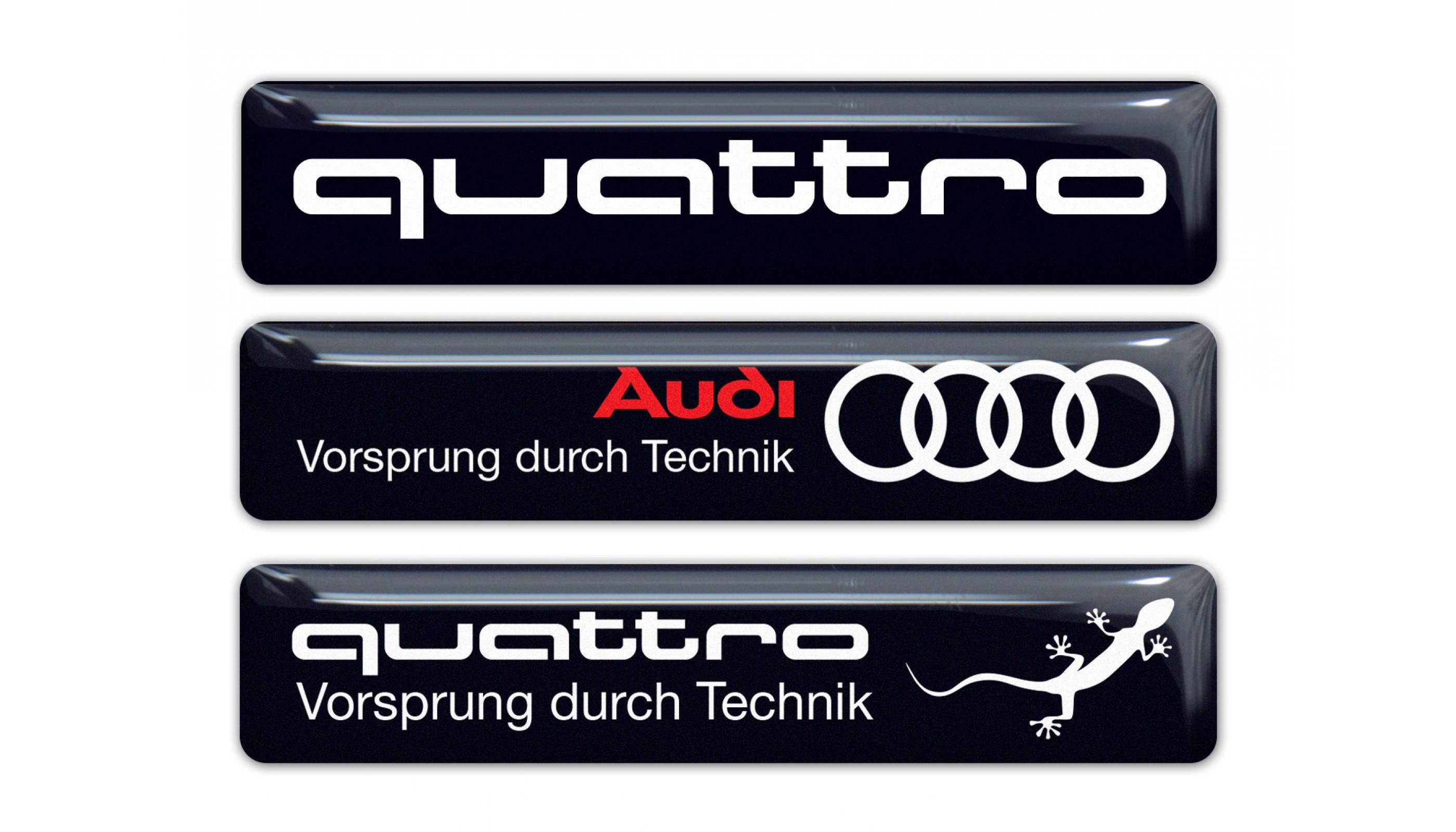 Audi Quattro black set