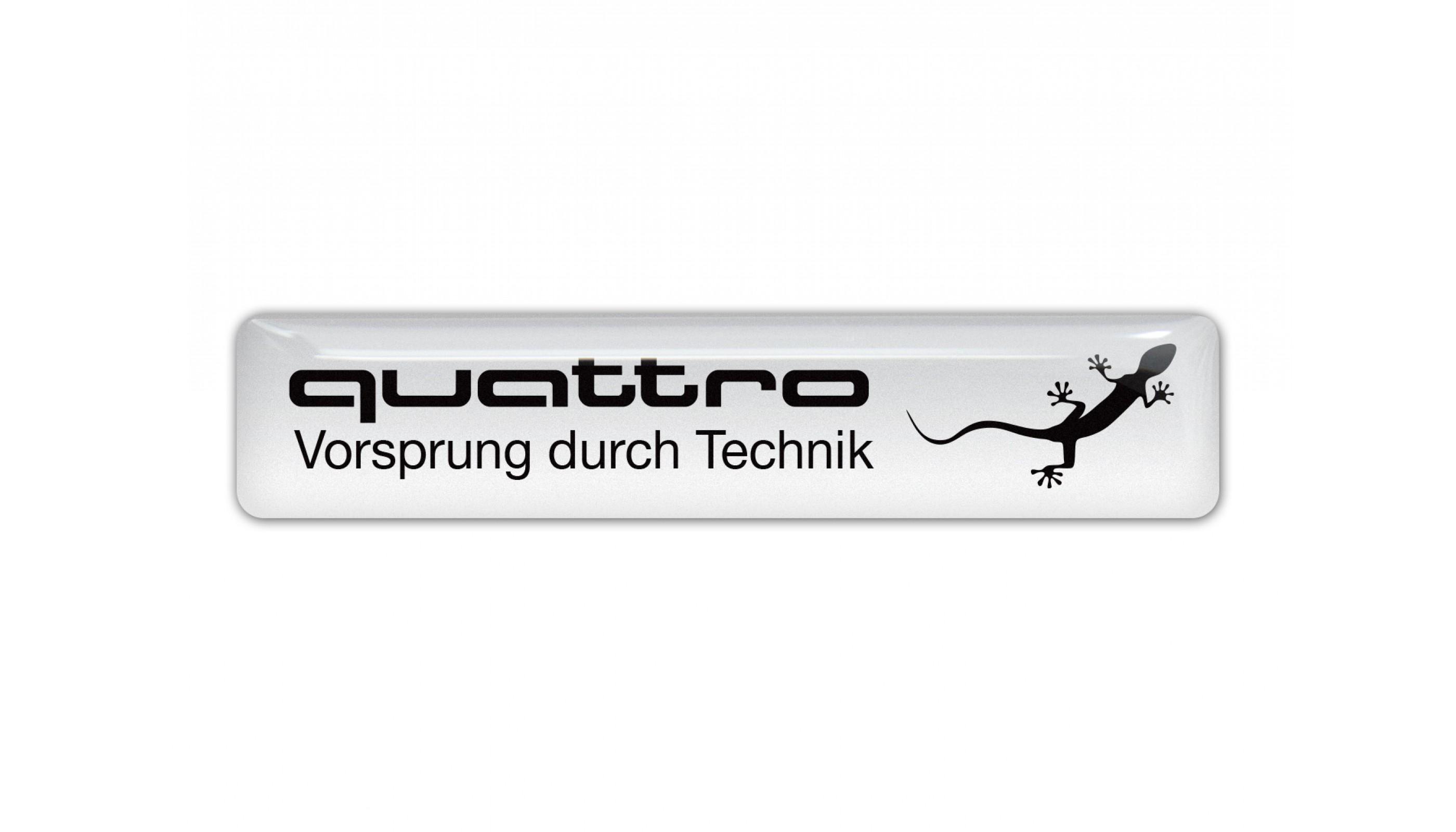Audi Quattro white