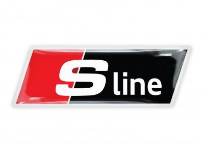Audi S line italic