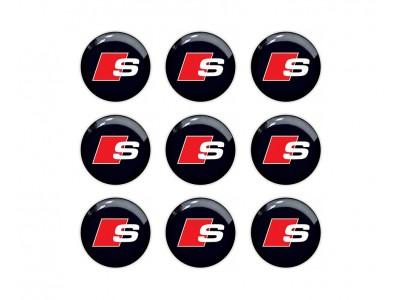 Audi S Line Key Fob Emblems