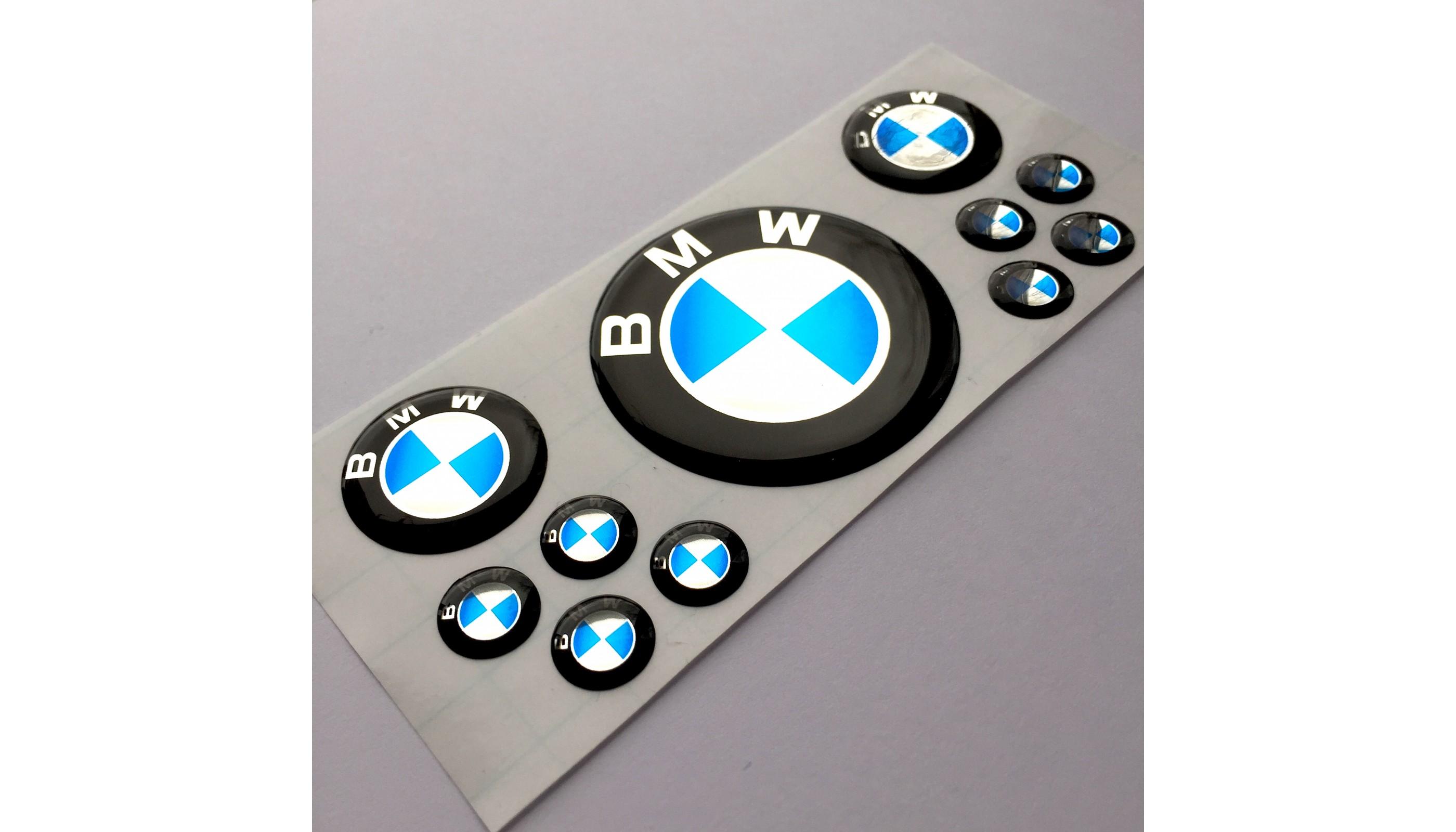 Bmw Classic Domed Emblems