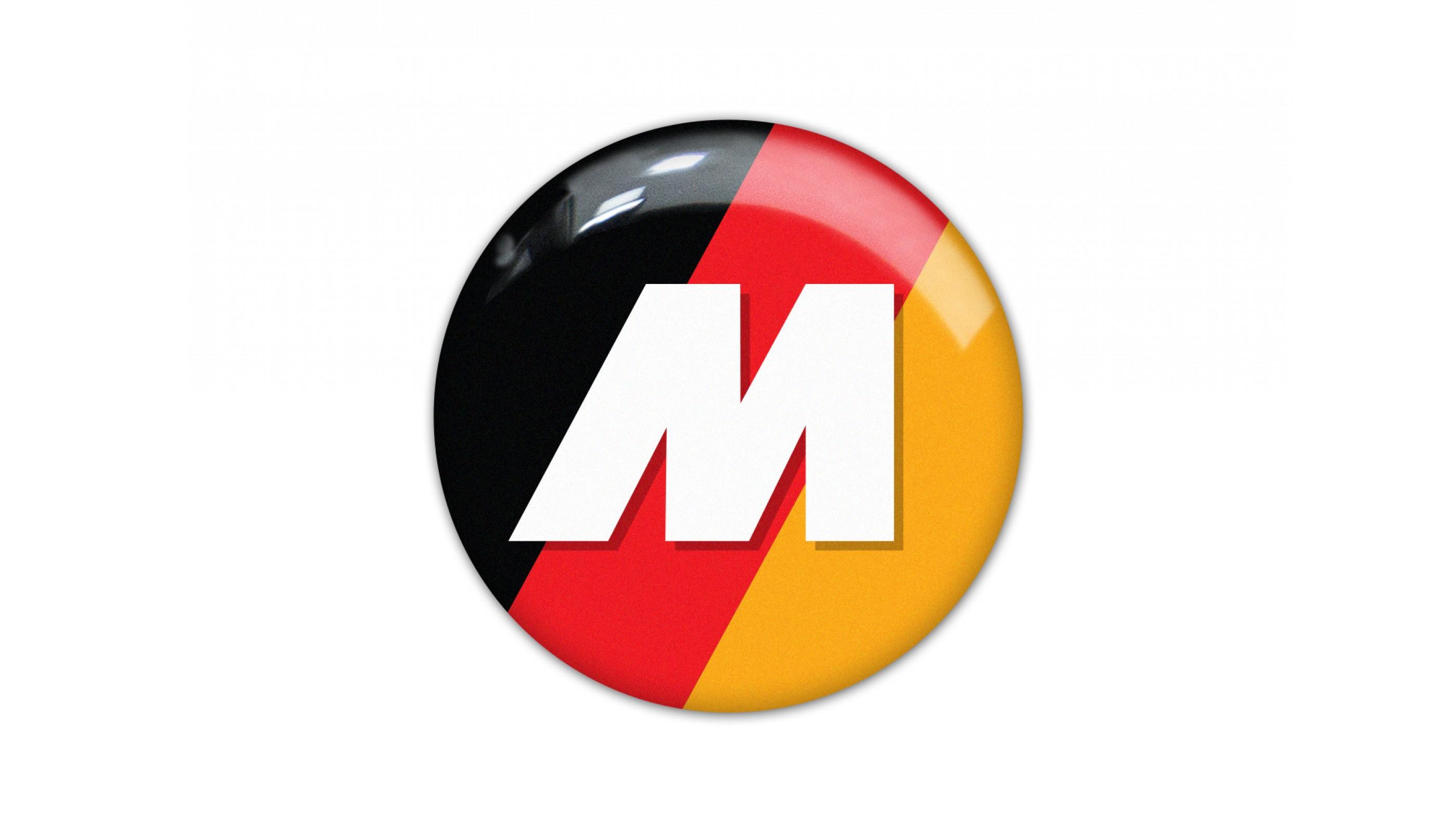 BMW M German flag color