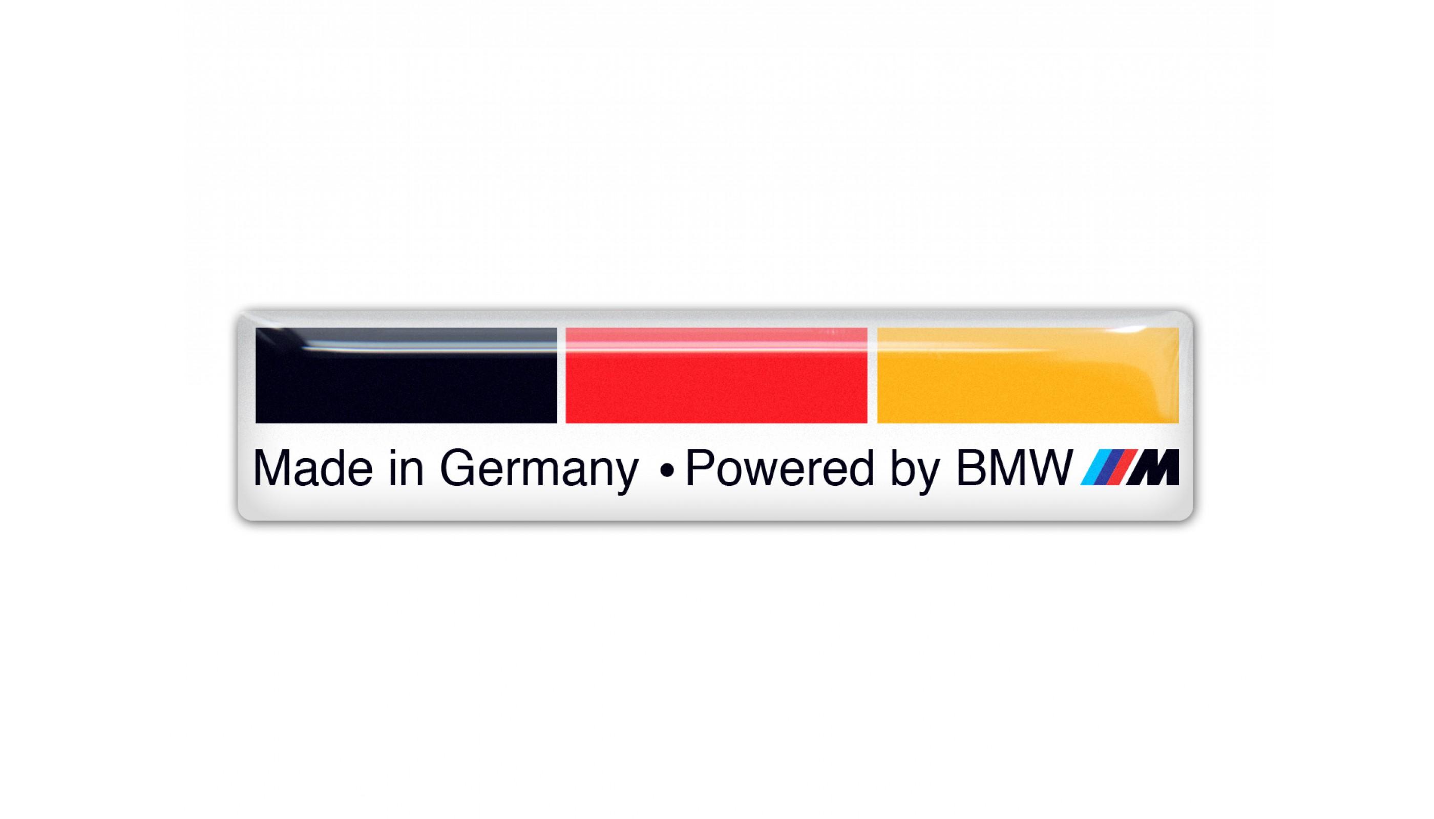 BMW M German Flag