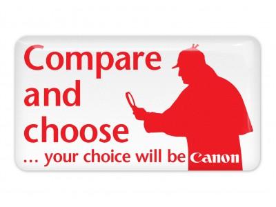 Compare and Choose Canon