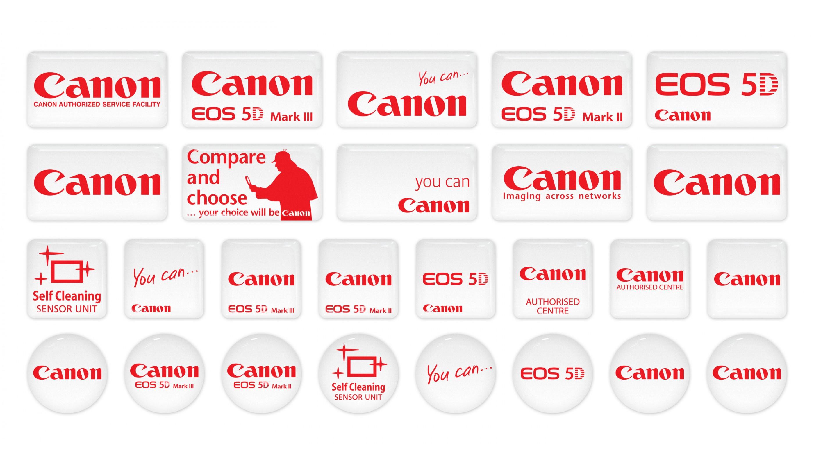 Canon Emblems 26pcs