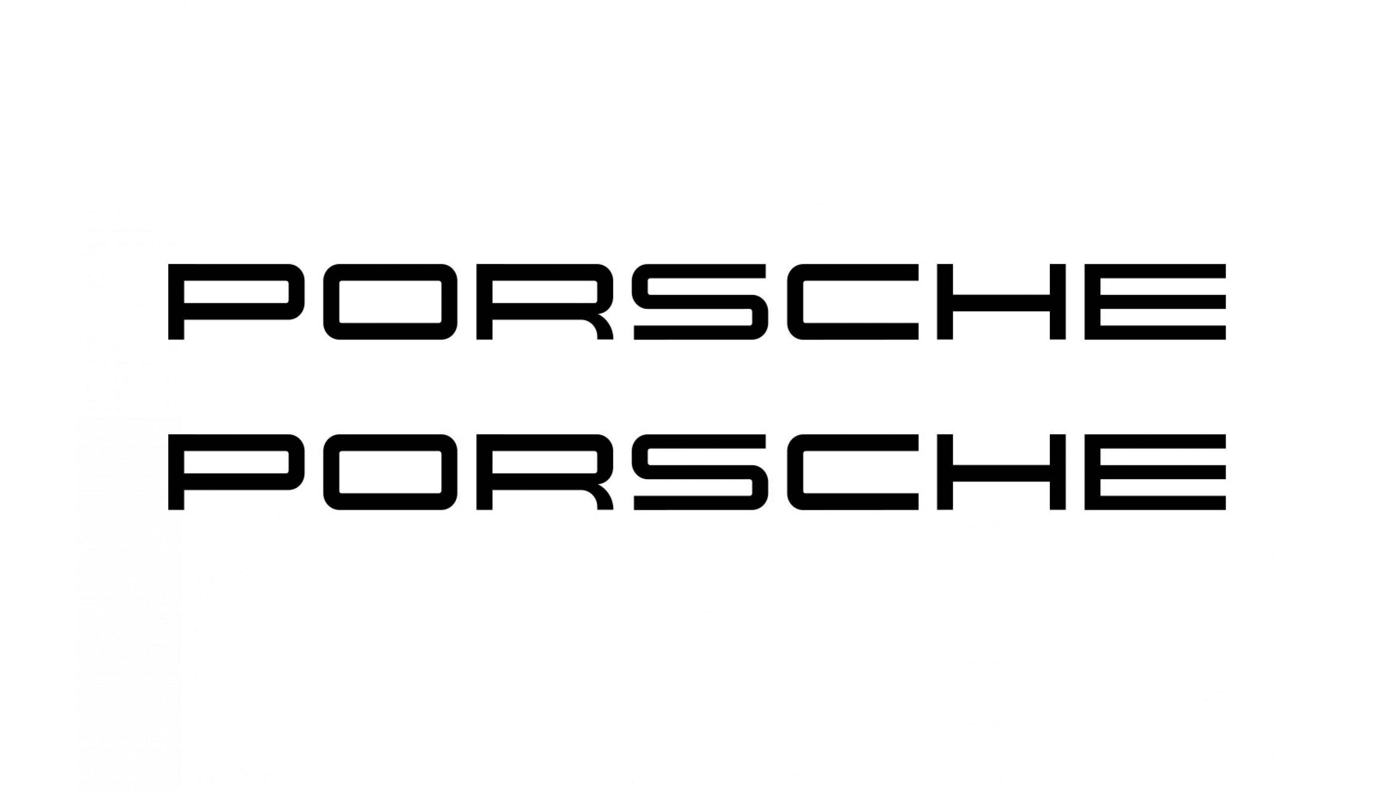 Porsche rear decals