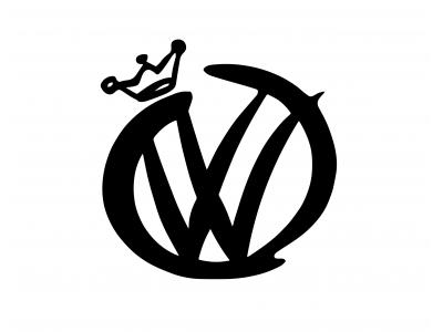 Volkswagen Crown decal