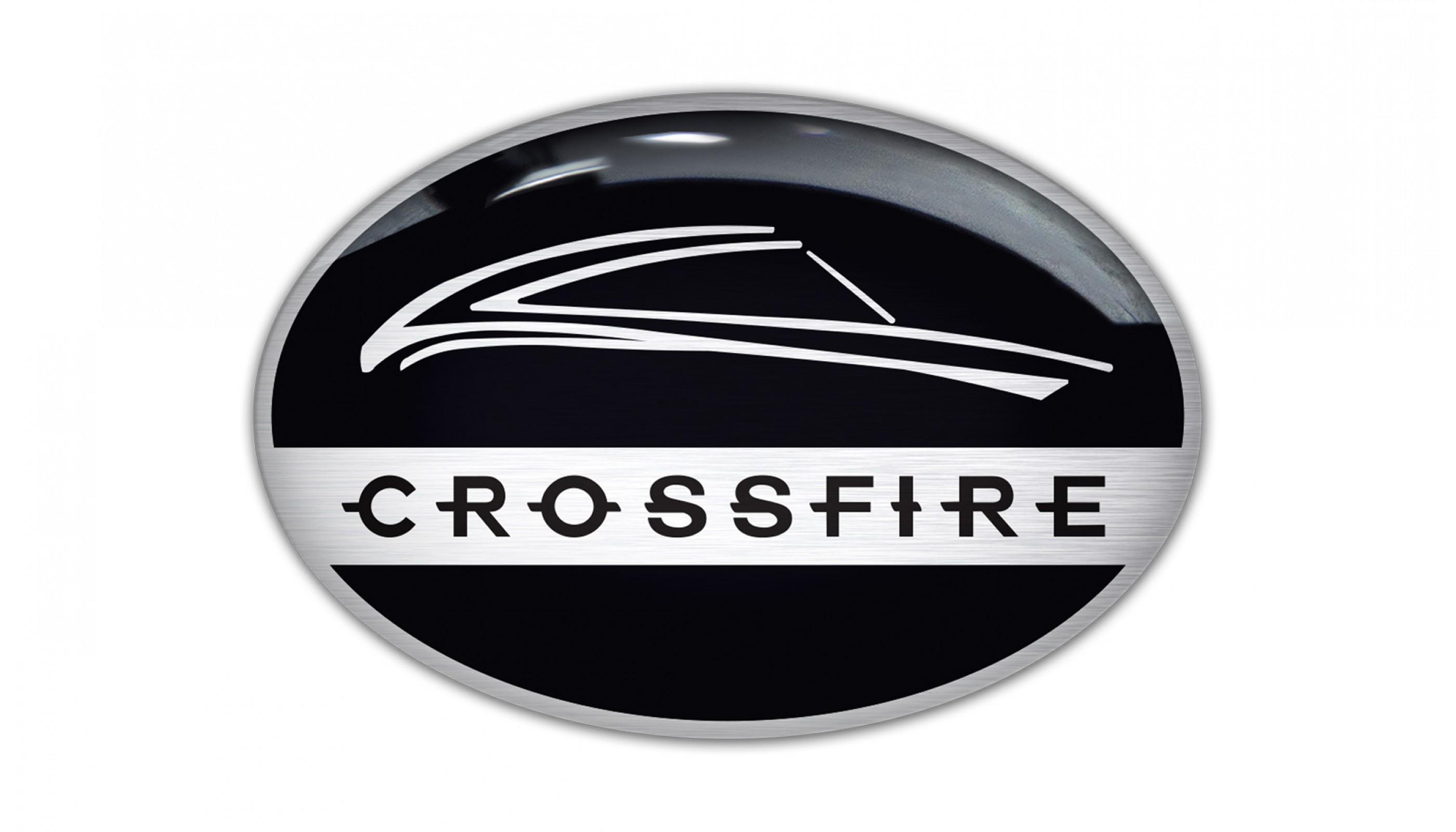 Crossfire Spiderman Steering Wheel Rear Back Emblems
