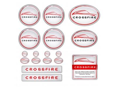 SRT6 Chrysler Crossfire Emblems