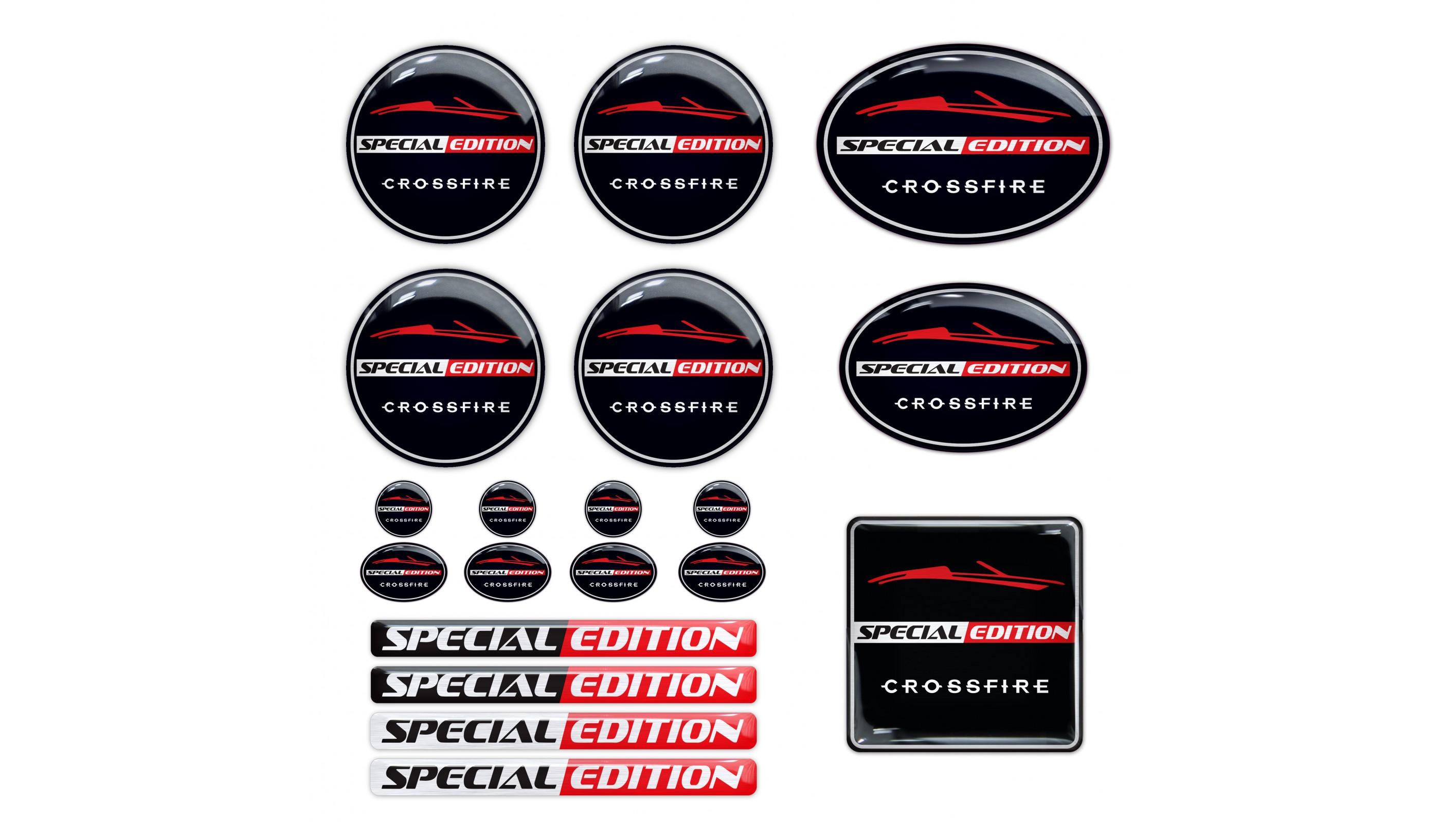 Special Edition Limited 3d emblem decal sticker Chrysler BMW VW Mercedes