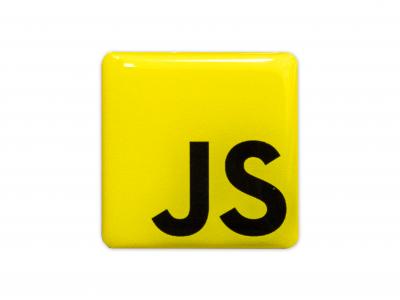 JS domed emblem