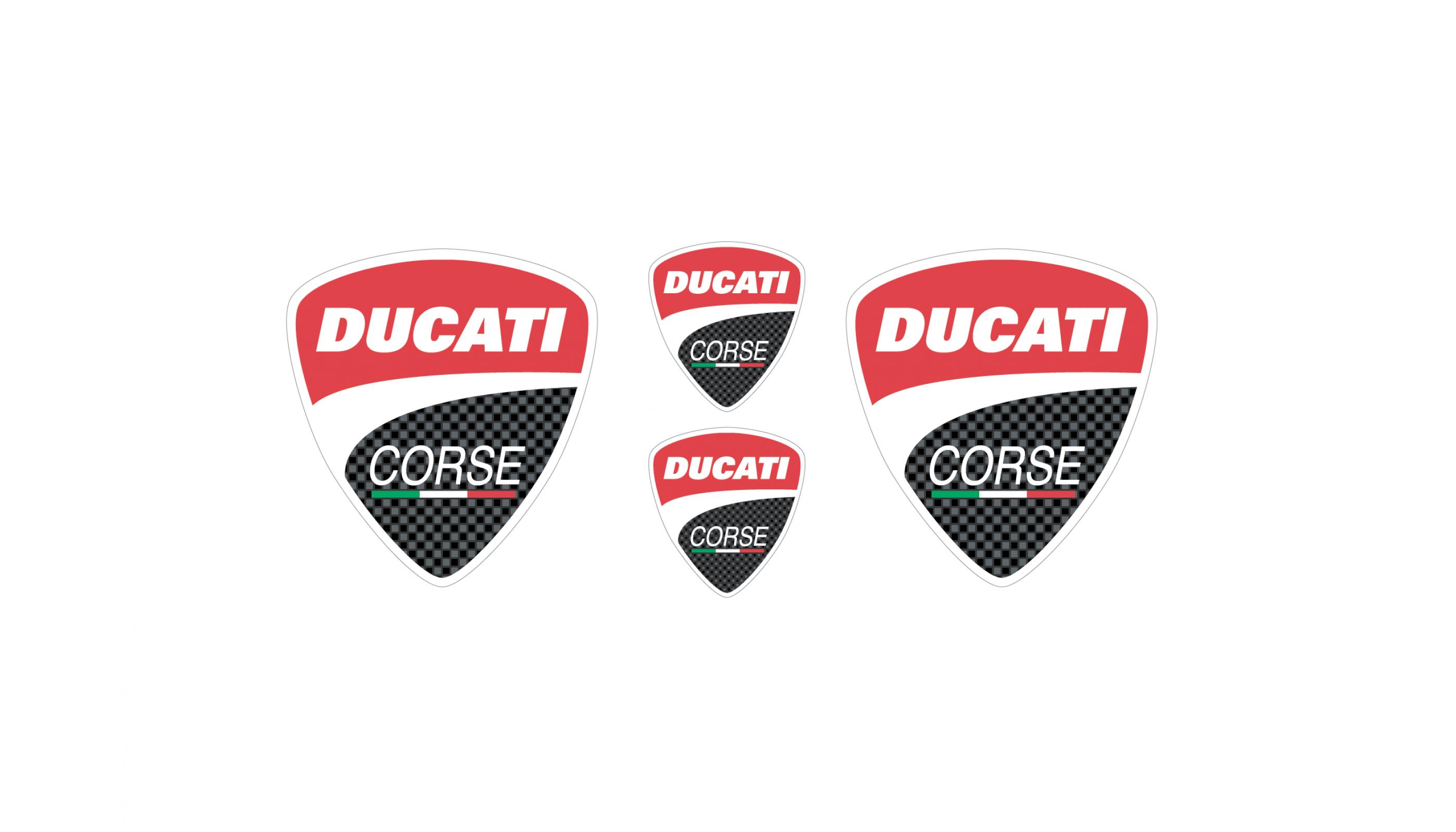 Ducati Corse emblems