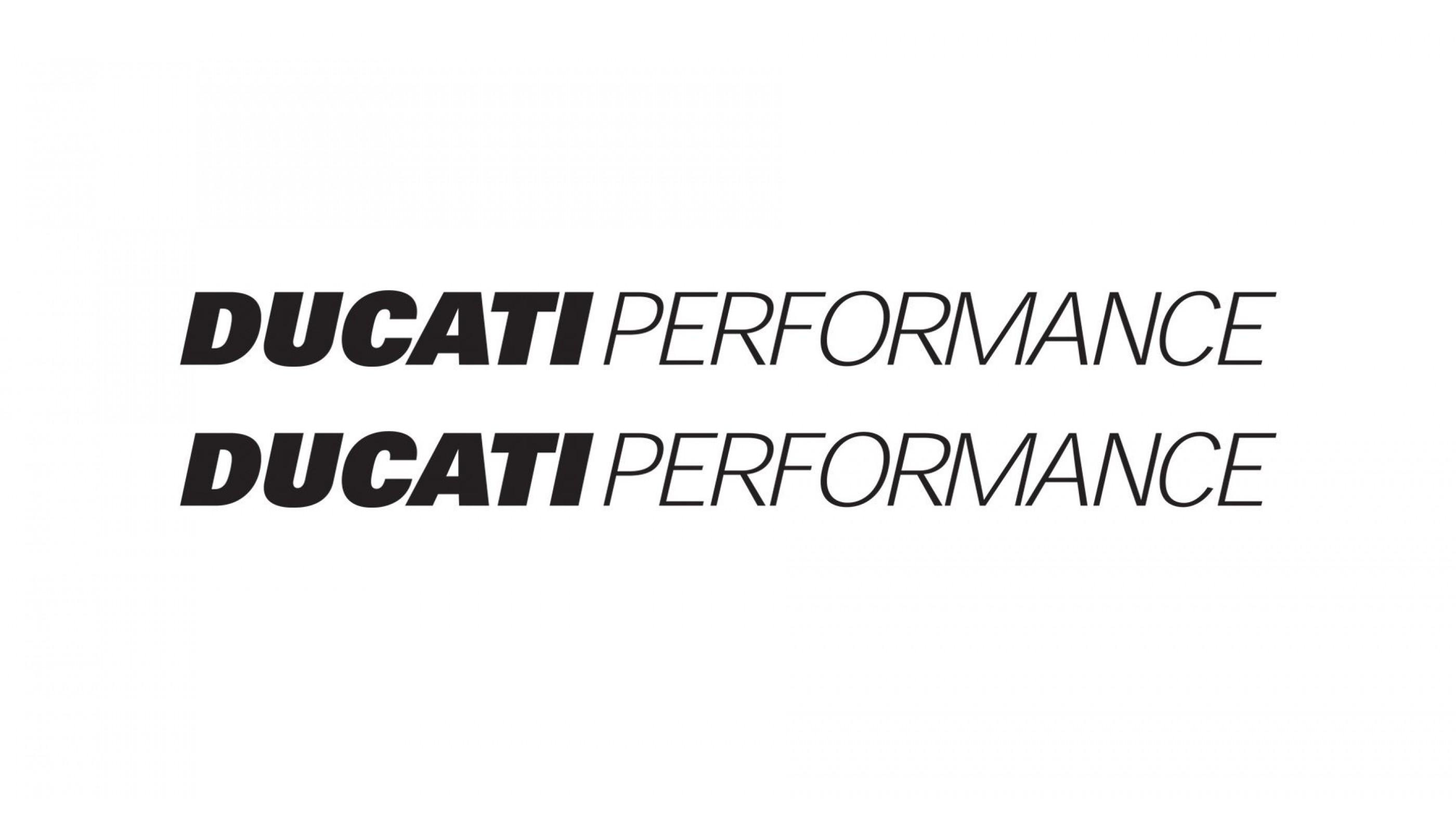 Ducati Performance decals