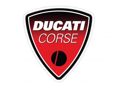 Ducati Corse vinyl sticker