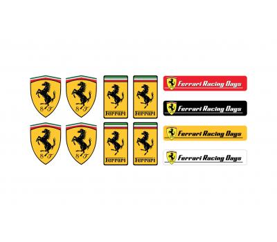 Ferrari racing days set