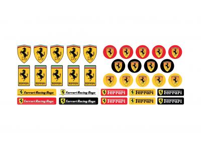 Ferrari small emblems big set