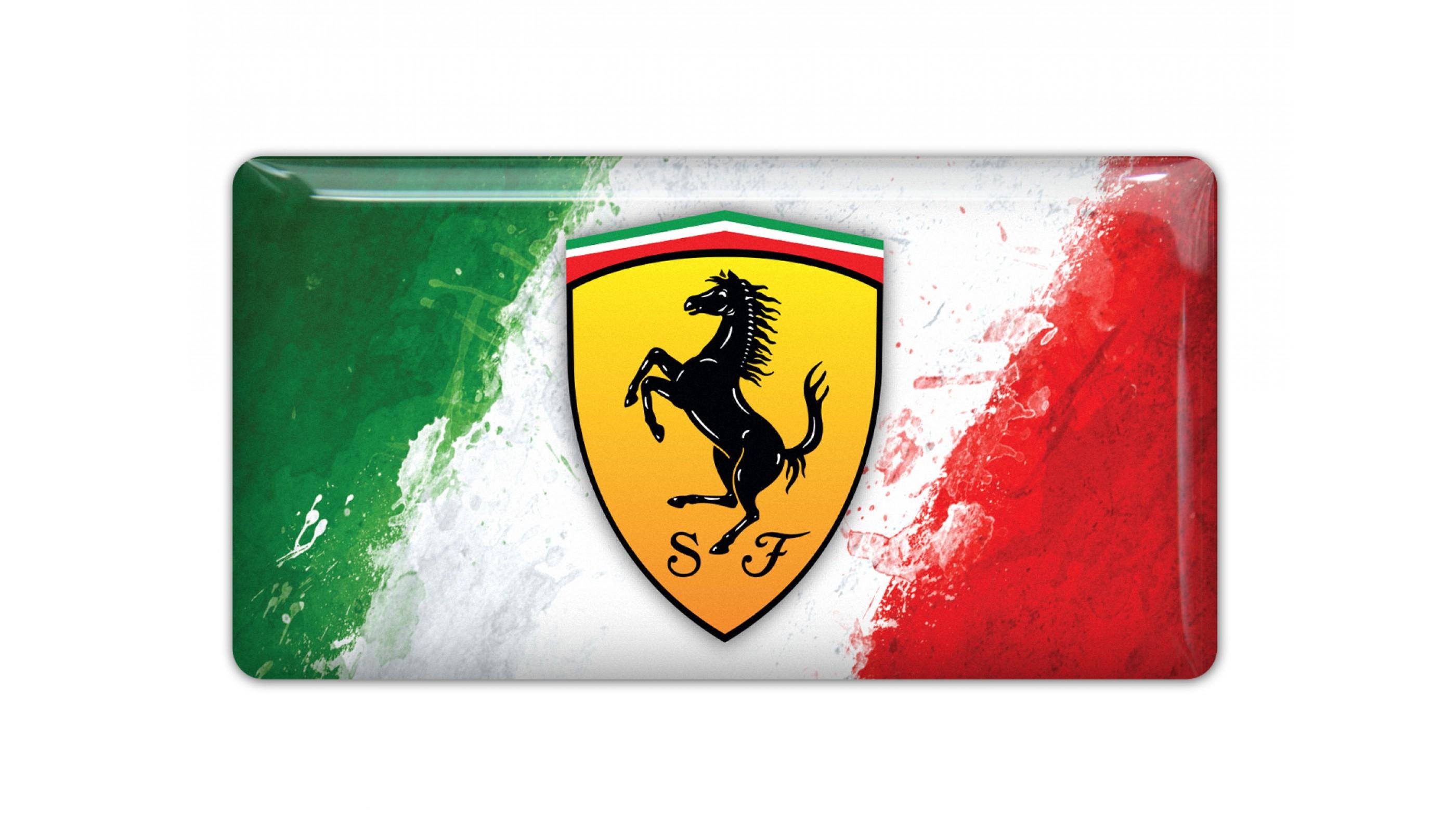 Ferrari Italy Flag