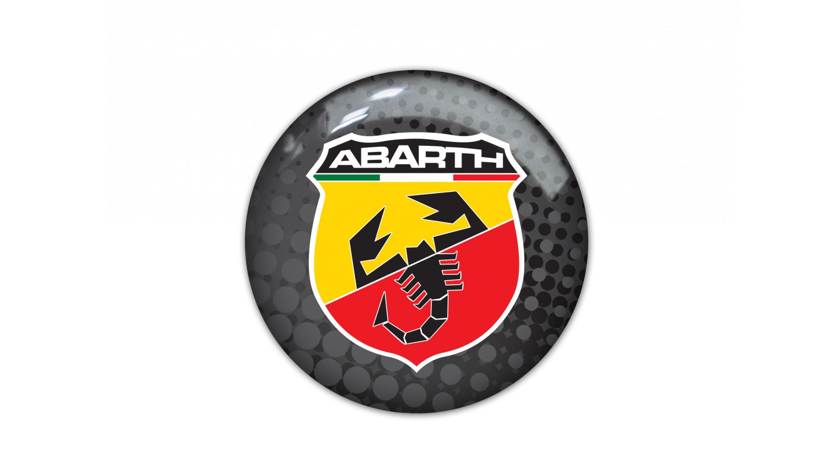 Abarth round black
