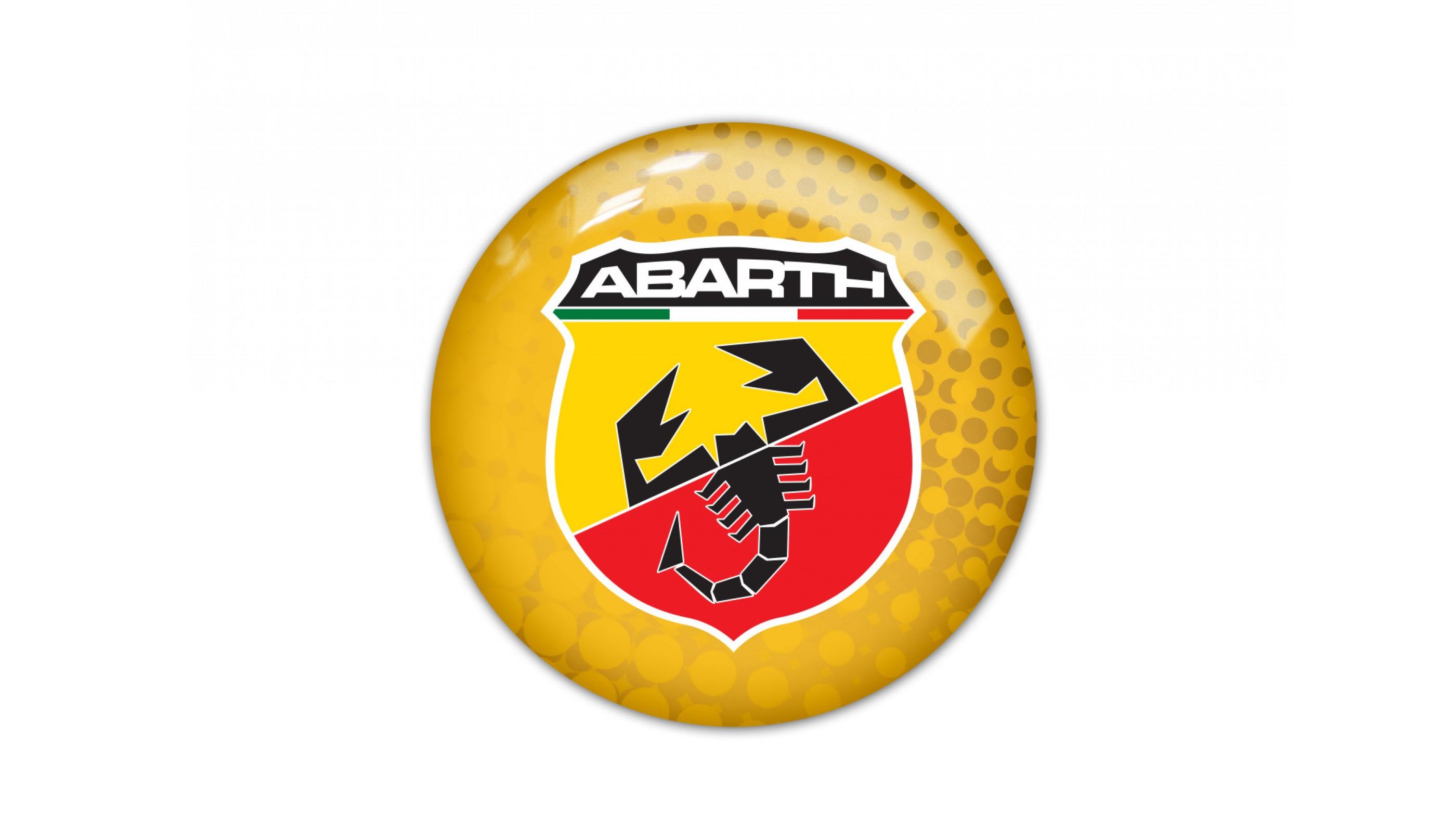 Abarth round yellow