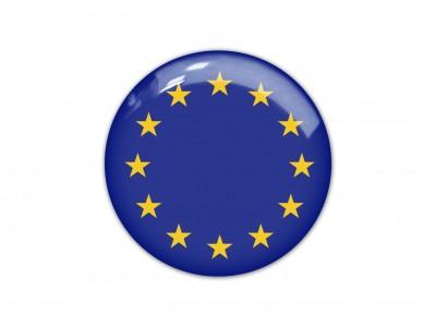EU round flag
