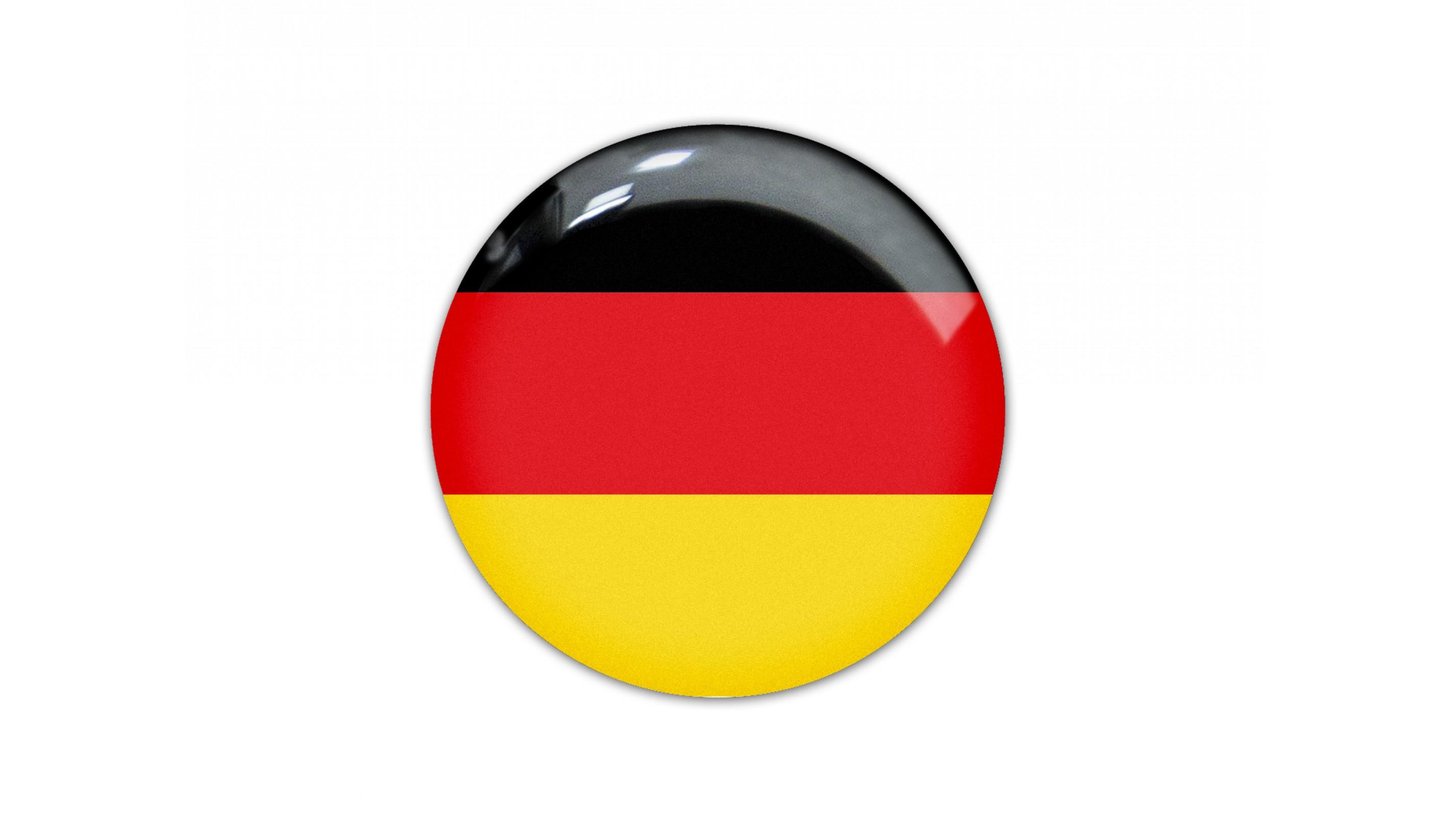 German round flag