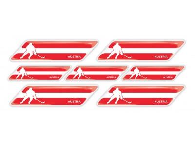Austria Hockey Flag