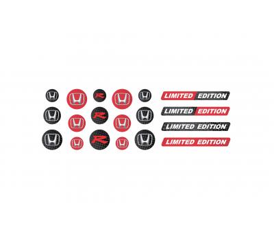 Honda domed key fob emblems