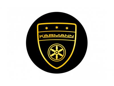 Karmann Gold black 69mm rims domed emblem