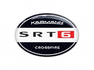 Karmann SRT6 Original steering wheel/rear/back emblems