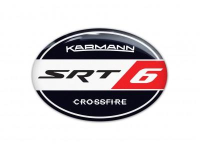 Karmann SRT6 steering wheel/rear/back emblems