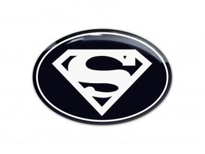 Superman steering wheel/rear/back emblems