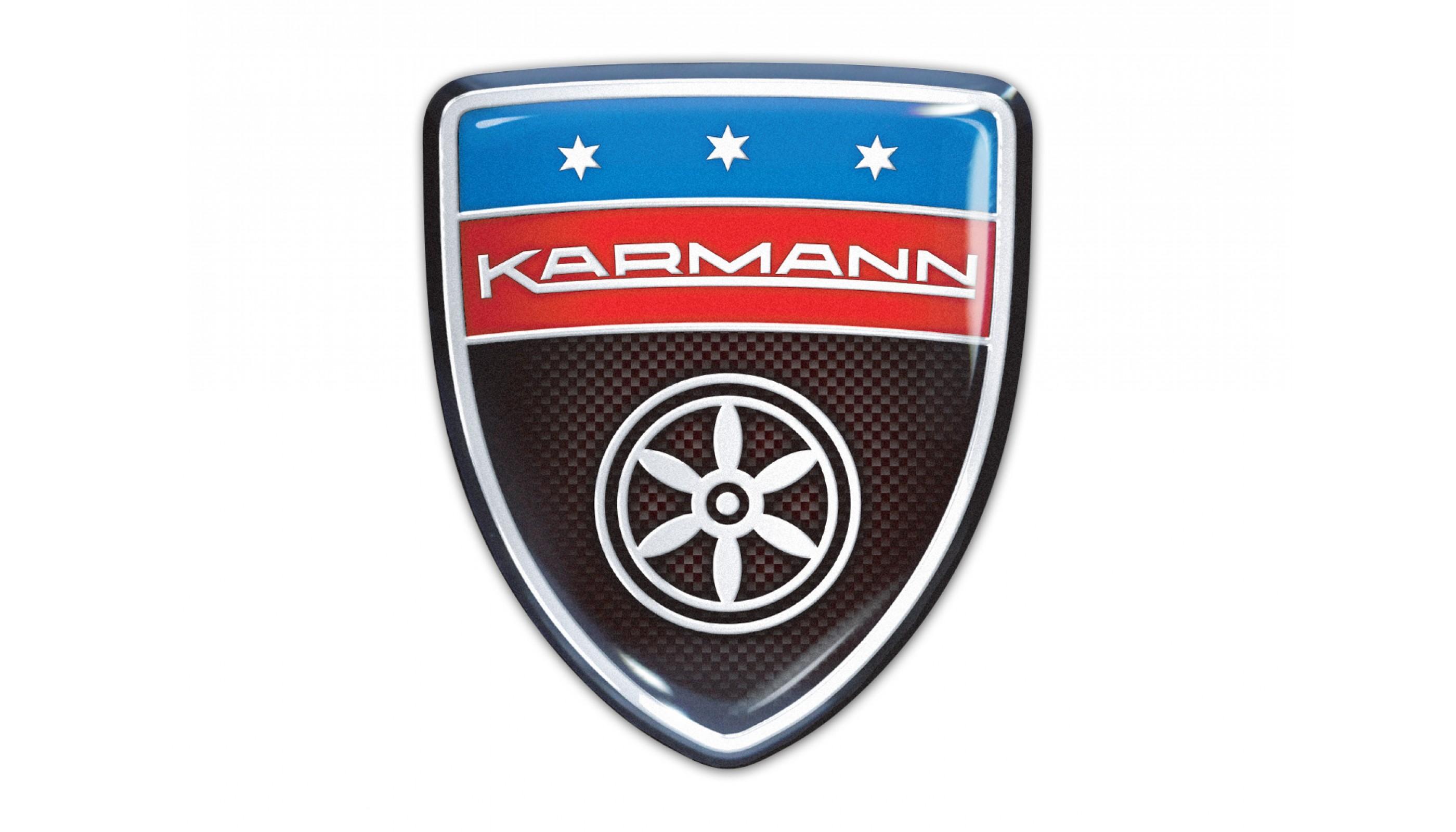 Karmann Carbon Domed Emblem