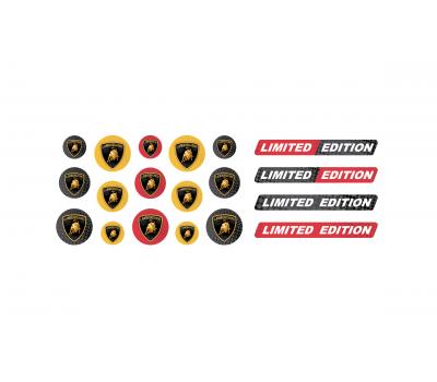 Lamborghini domed key fob emblems