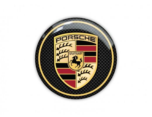 Porsche Round Emblem