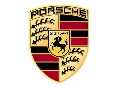 Porsche vinyl sticker
