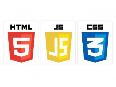 HTML JS CSS vinyl sticker