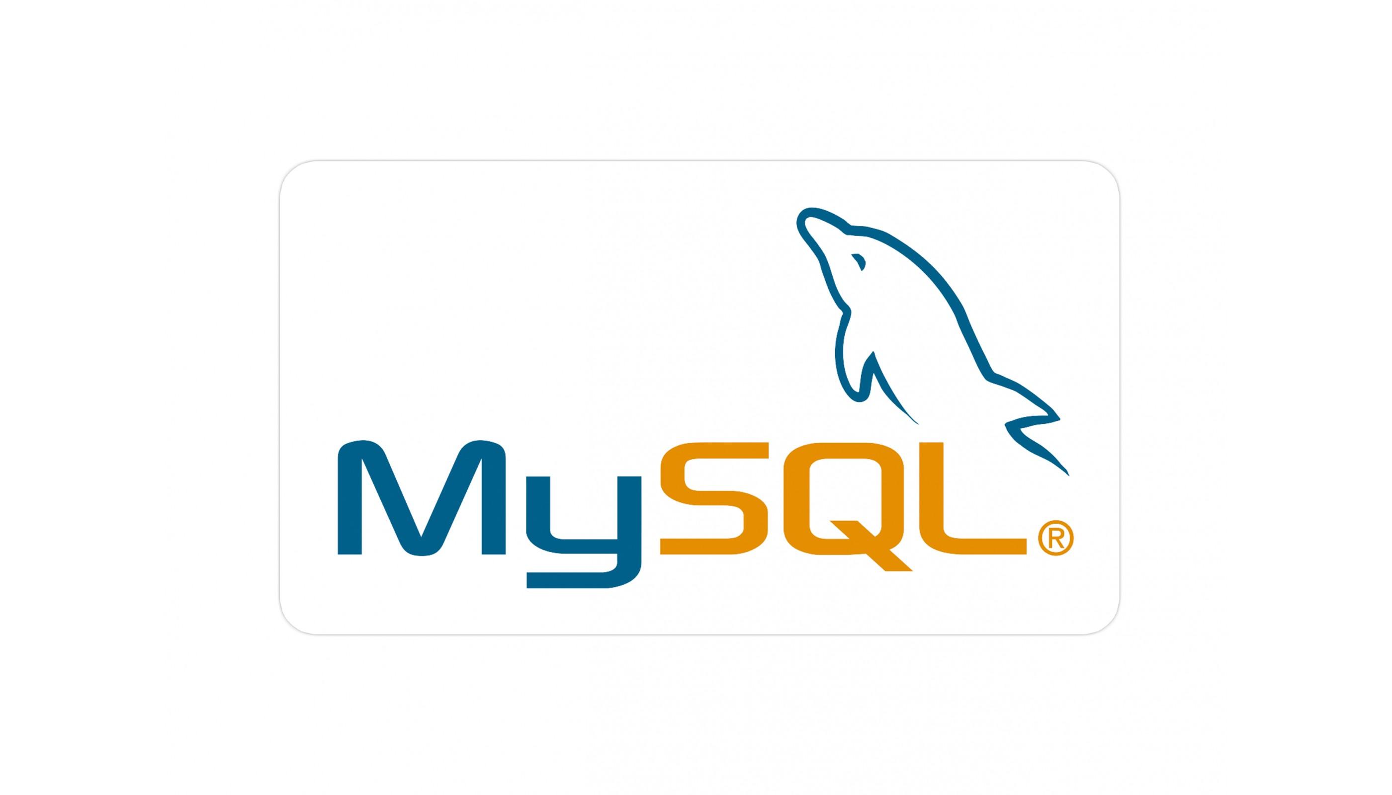 MySQL vinyl sticker