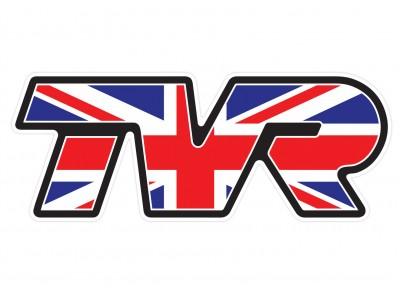 TVR UK Flag vinyl sticker