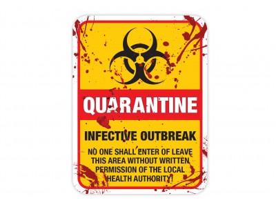 QUARANTINE Zombie Infected Area