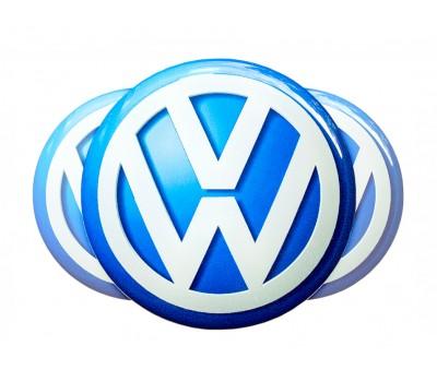 Vw Blue domed emblems