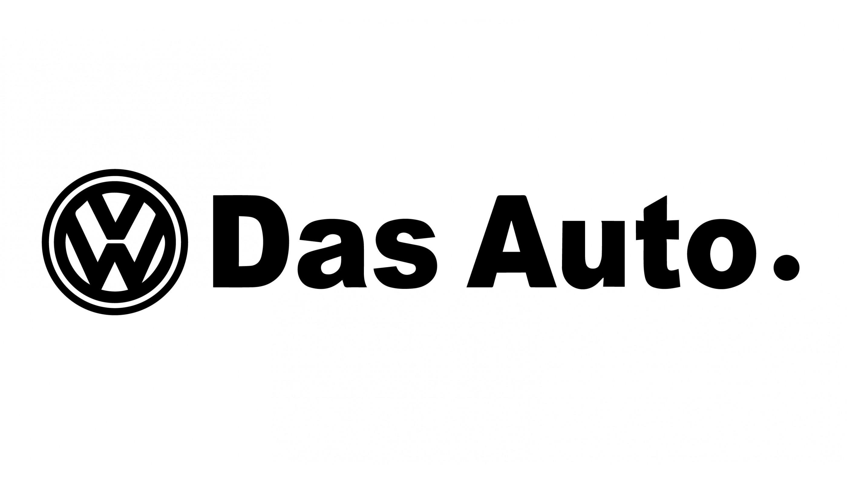 Volkswagen Das Auto Decal